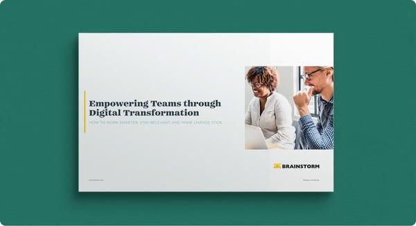 Empowering Teams through Digital Transformation Asset Page Hero Image
