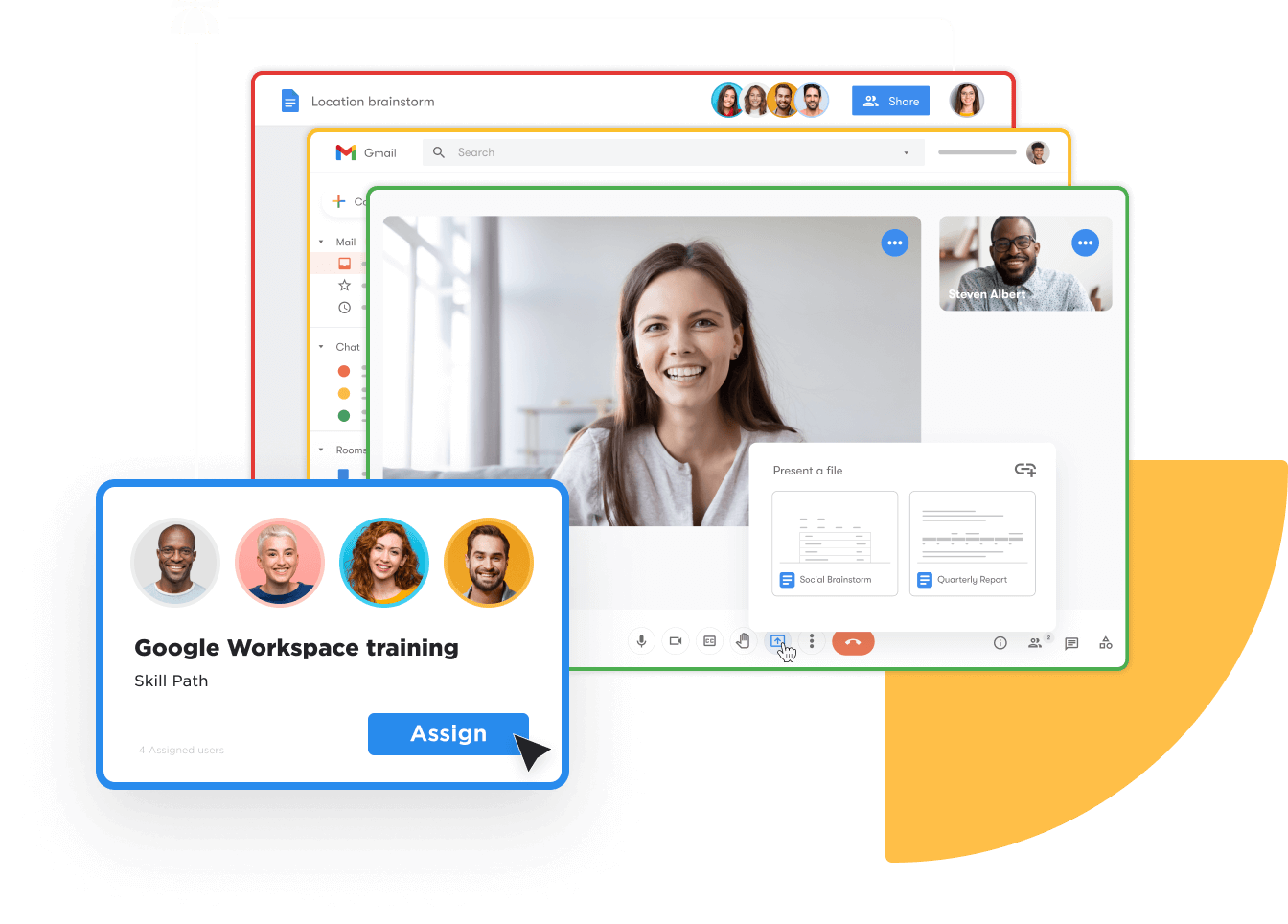 Get more out of Google Workspace Hero image S-1