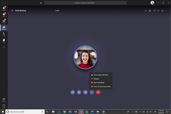 Microsoft teams adoption for your organization's meetings