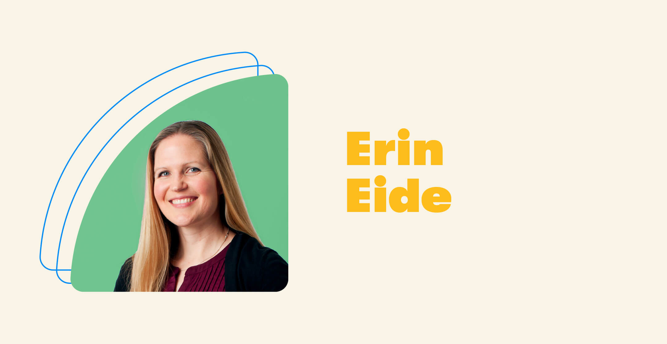 A picture of Erin
