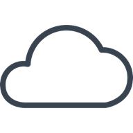 Illustration of a cloud.