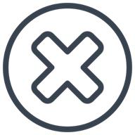 Illustration of uninstall button.