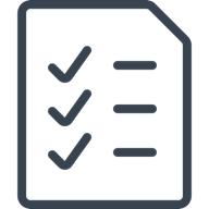 Illustration of check list